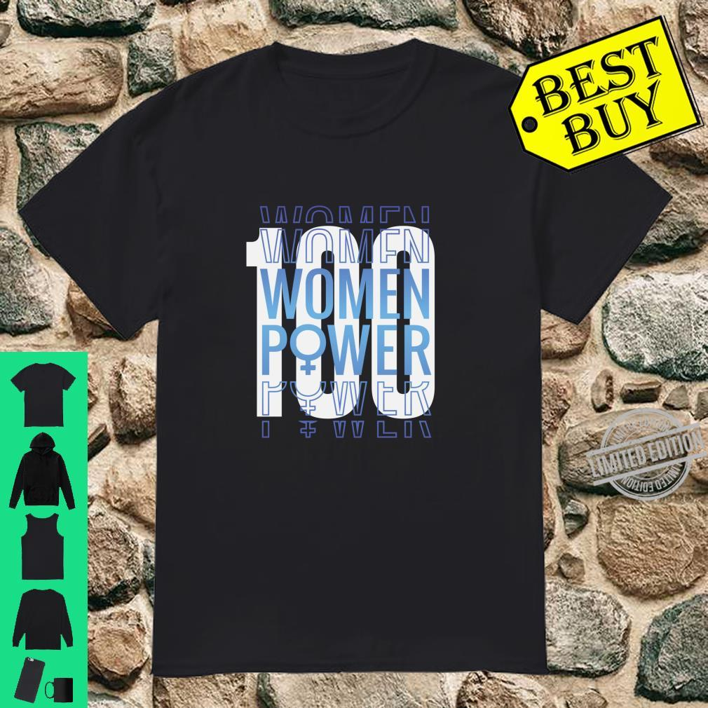 19th Amendment,'s Right to Vote 100 Years Suffragette Shirt