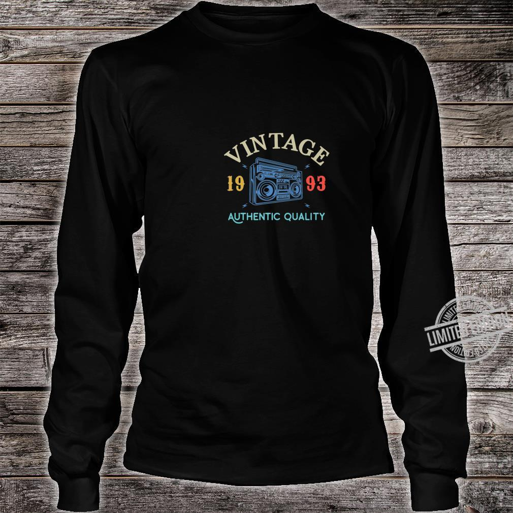 26 Years Old 1993 Vintage 26th Birthday Anniversary Shirt long sleeved