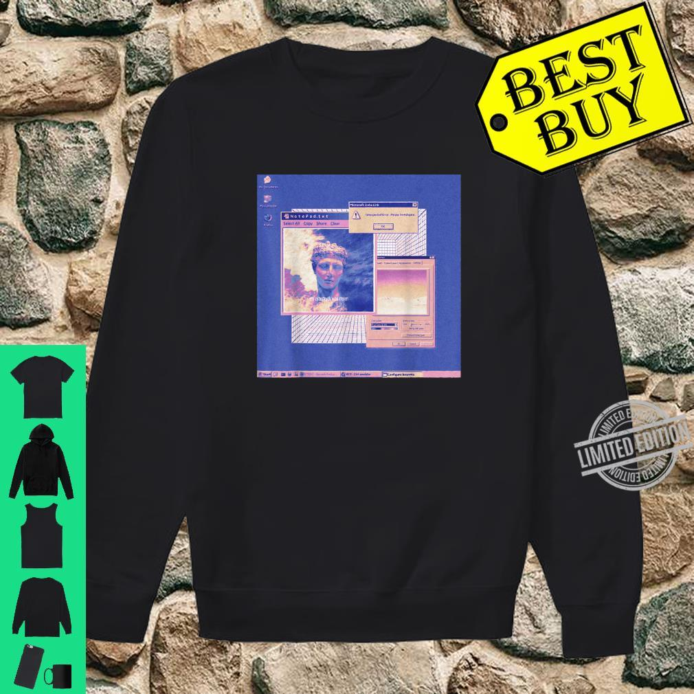 Aesthetic Vaporwave Shirt Retro 80s Vaporwave Aesthetic Shirt sweater
