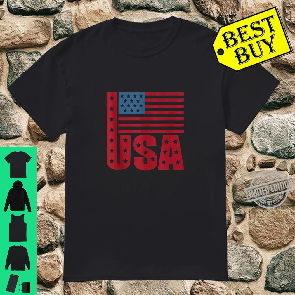 American USA Flag Day Of Independence Shirt