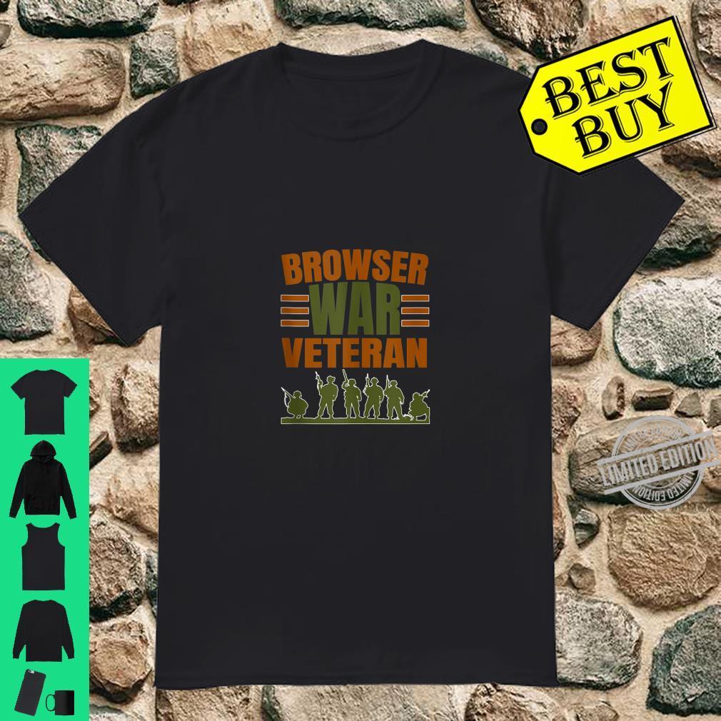 Browser War Veterans Shirt