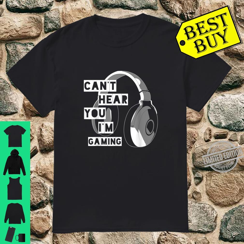 Can't Heat You I'm Gaming Gamer Video Games Cool Shirt