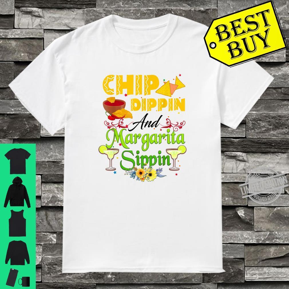 Chip Dippin' And Margarita Sippin Cinco De Mayo 2021 Shirt