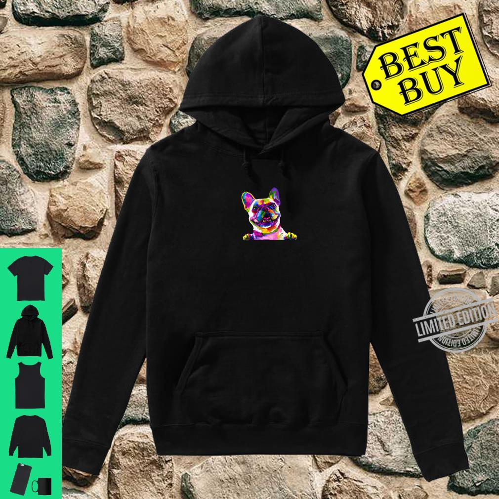 Colorful frenchie gift french bulldog owner Shirt hoodie