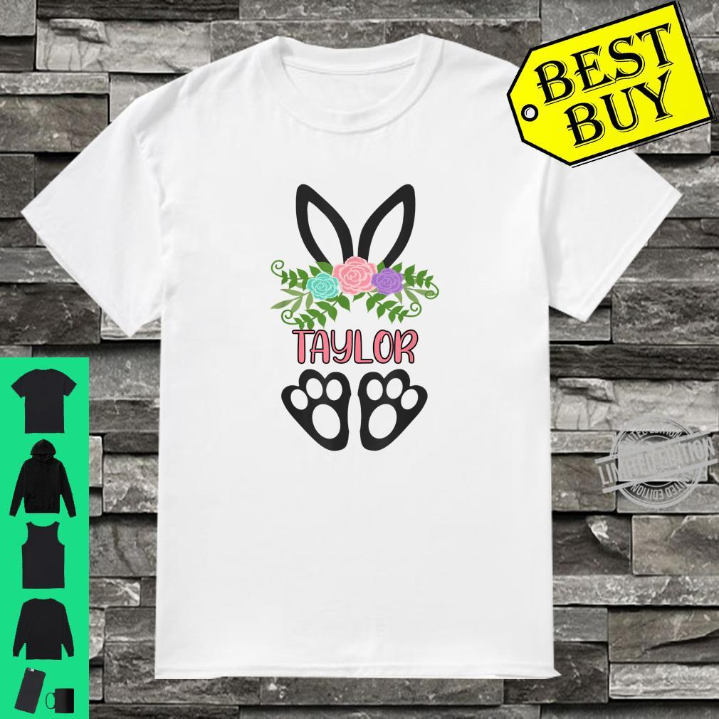 Cute Boho Easter Bunny Personalized TAYLOR Shirt