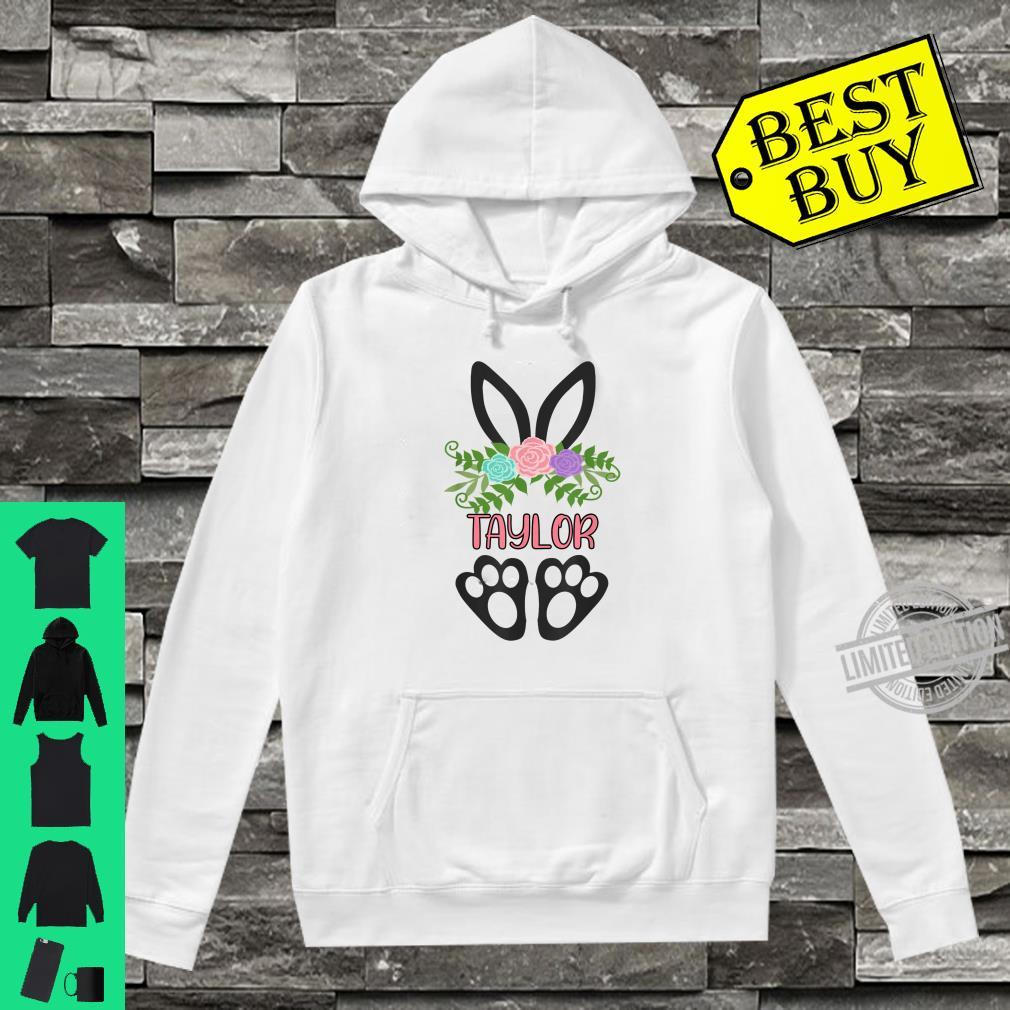 Cute Boho Easter Bunny Personalized TAYLOR Shirt hoodie