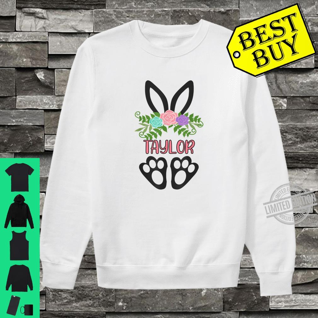 Cute Boho Easter Bunny Personalized TAYLOR Shirt sweater