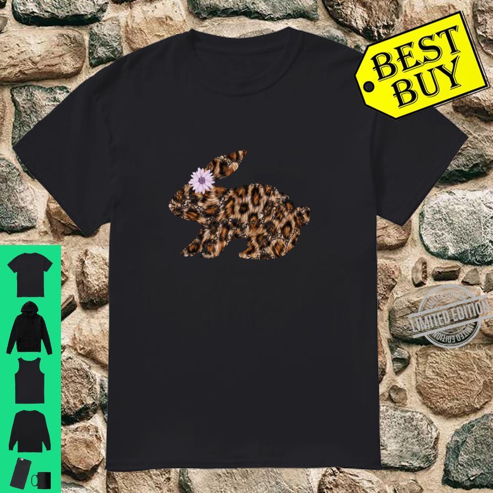 Cute Easter Bunny Leopard Shirt,Mama Bunny Rabbit Shirt