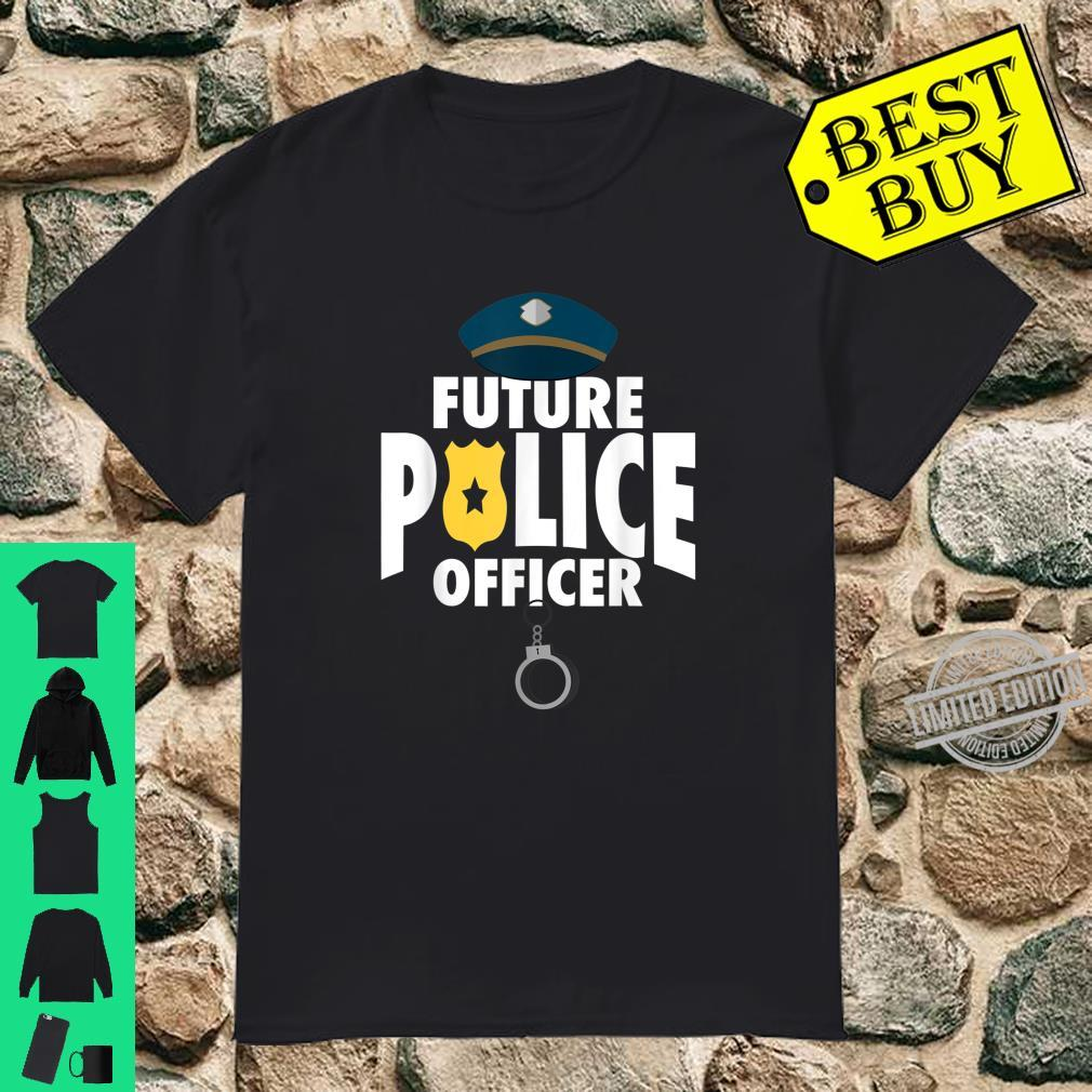 Cute Future Police Cool Present And Shirt