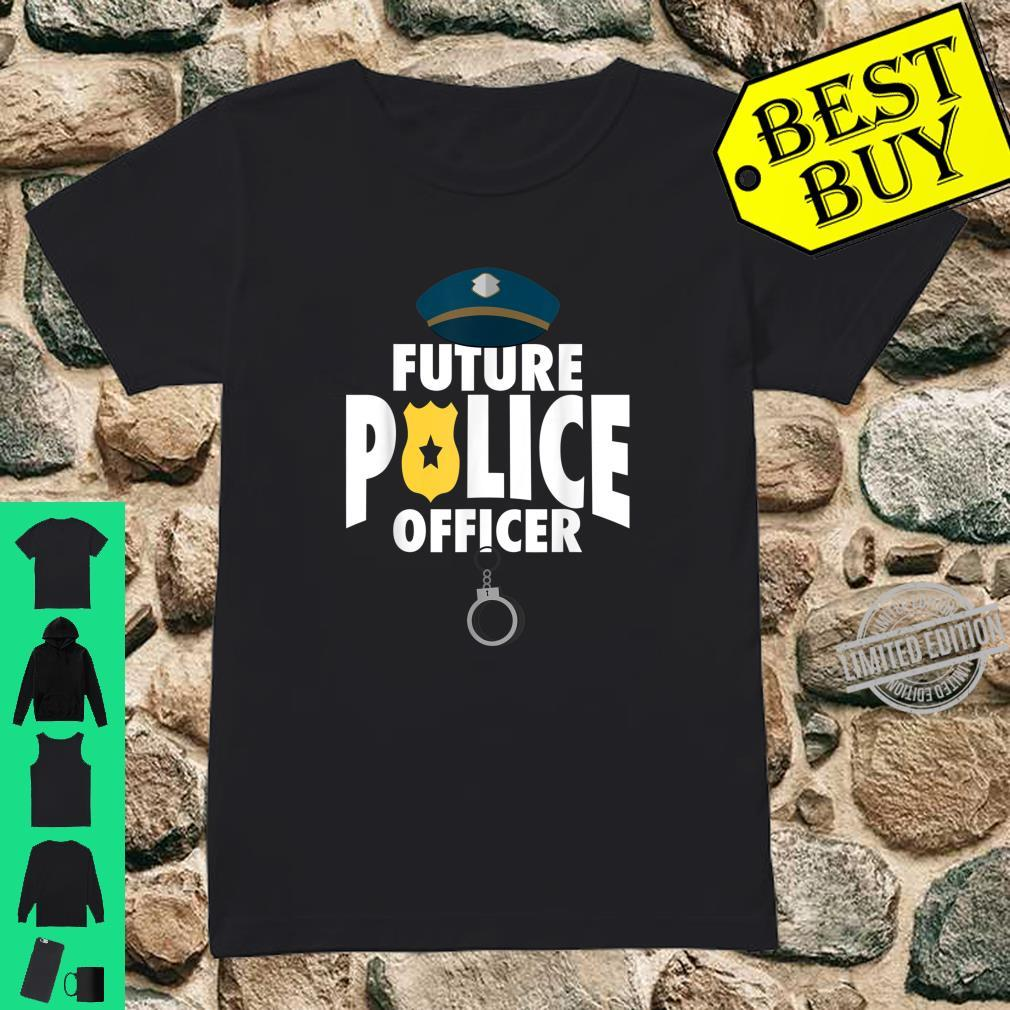 Cute Future Police Cool Present And Shirt ladies tee