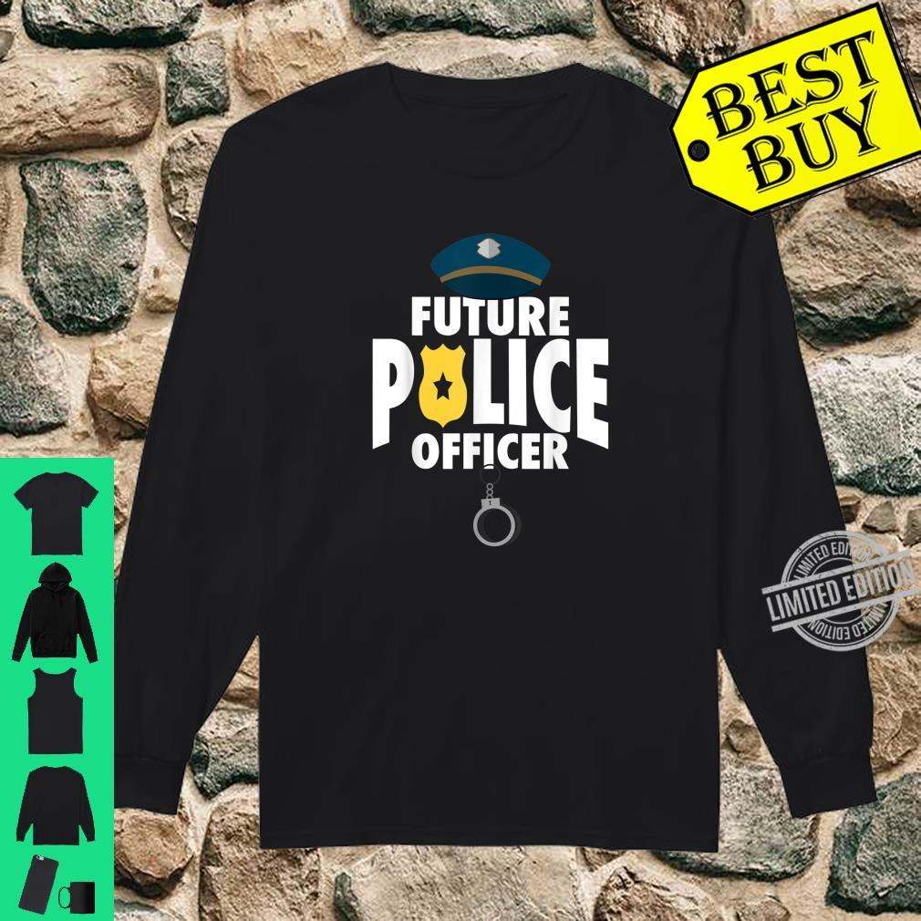 Cute Future Police Cool Present And Shirt long sleeved