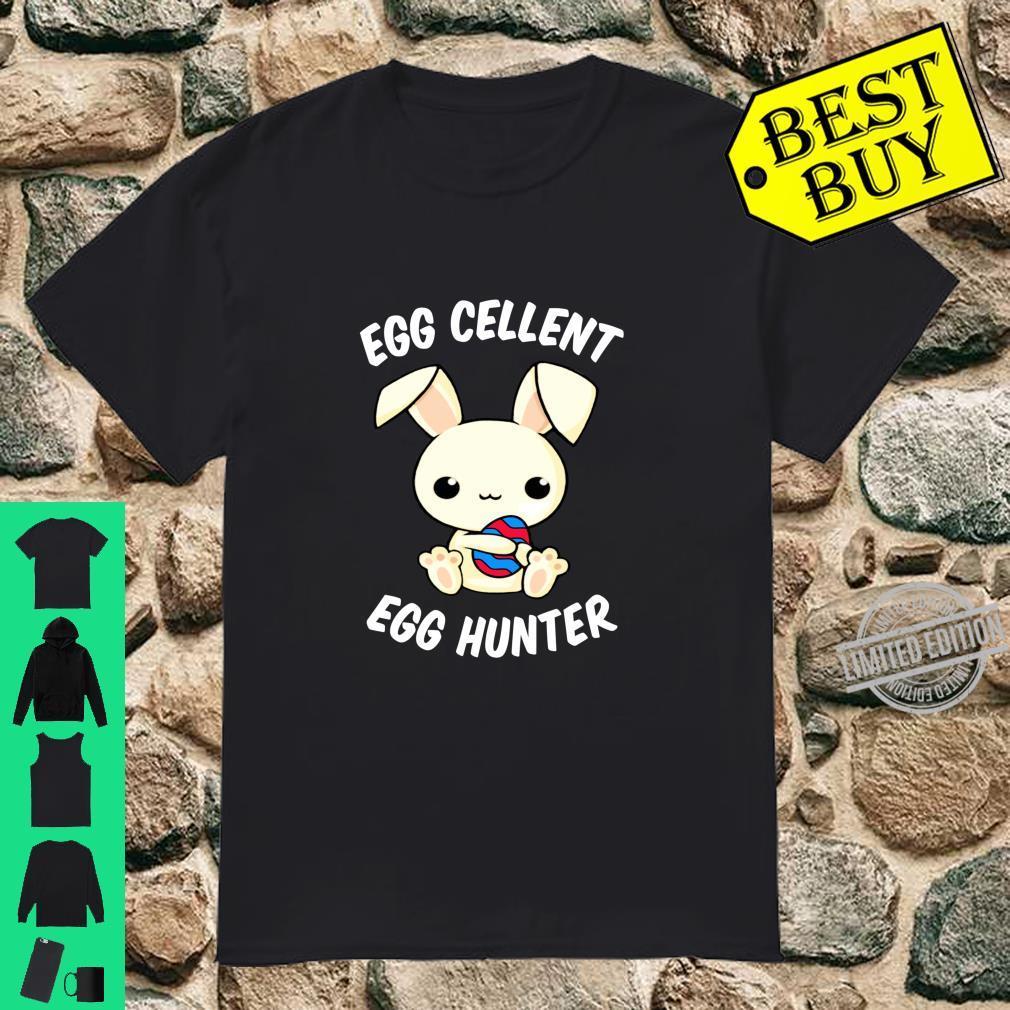 Funny Easter Day EggCellent Egg Hunte Bunny Ear & Shirt