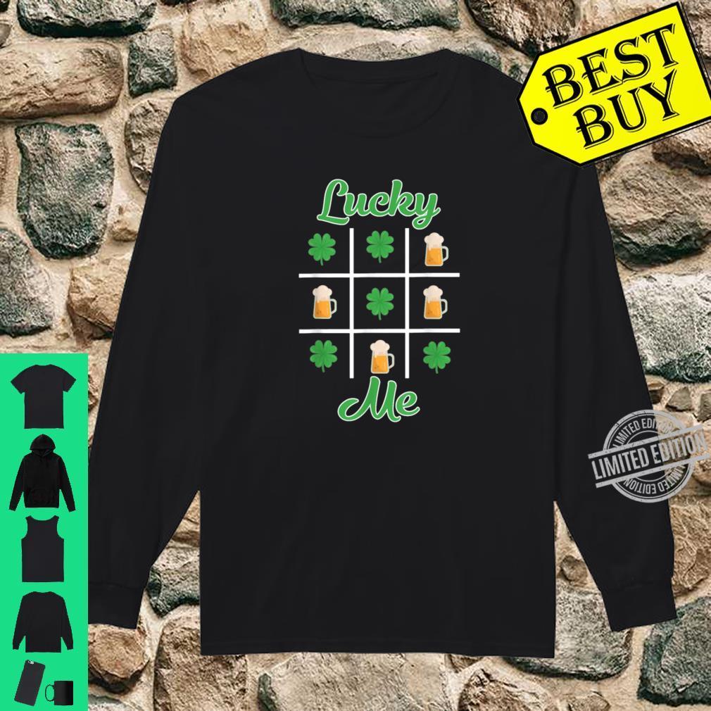Funny Irish Lucky Beer Drinking St. Patricks Day Shirt long sleeved