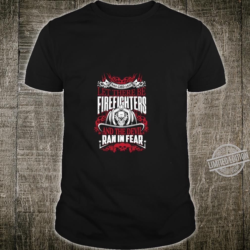 Funny Proud Firefighter Christmas Firemen Shirt