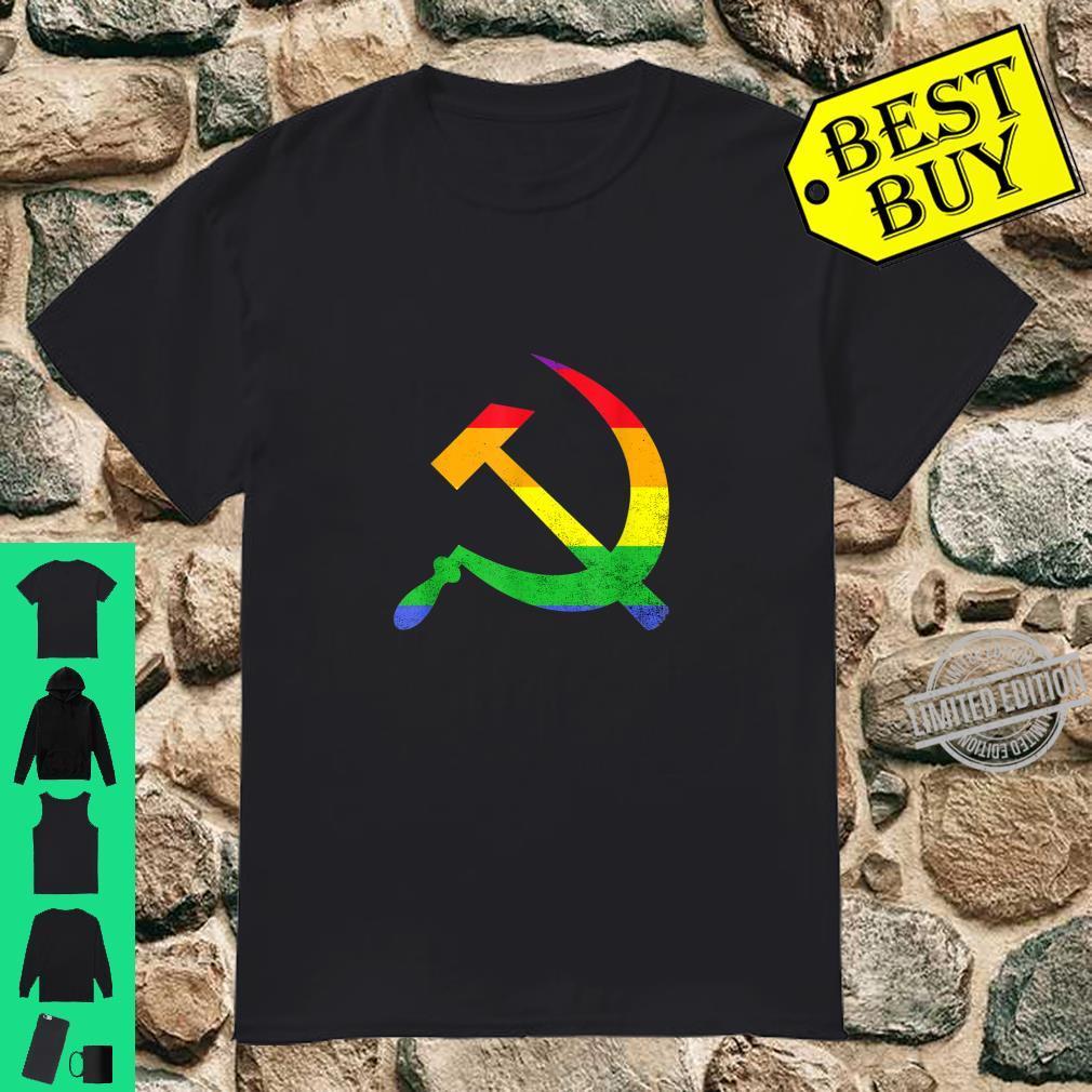 Gays For Communism Rainbow Gay Pride Shirt