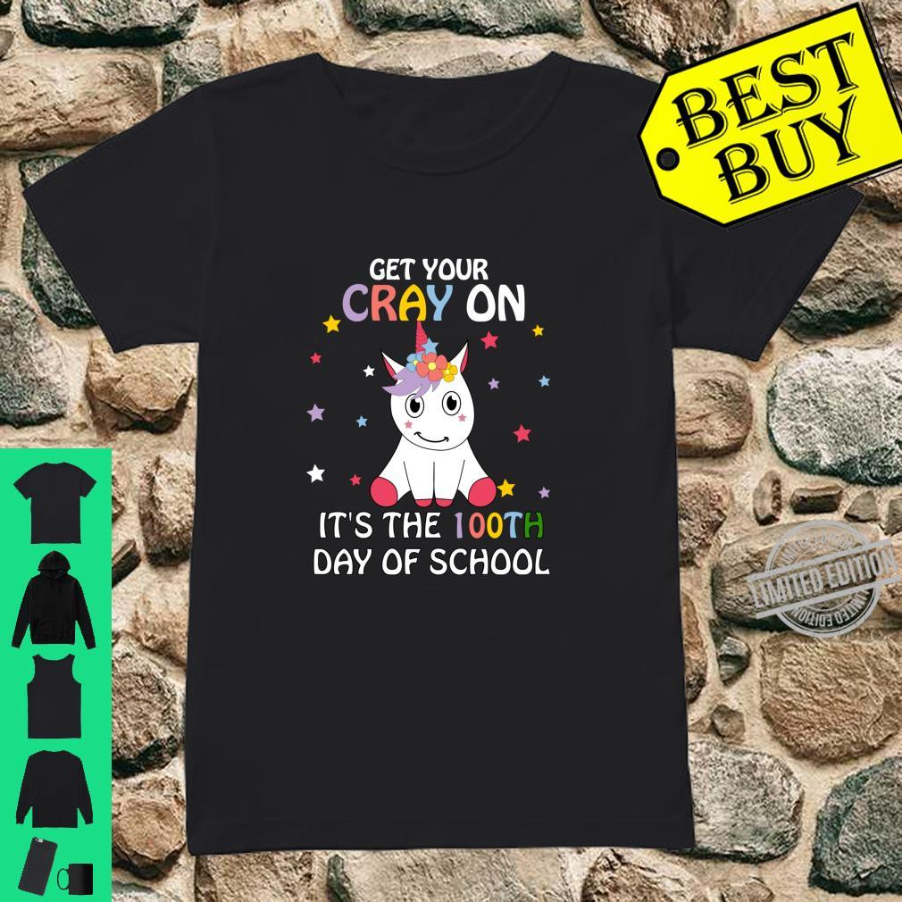 Happy 100th Day of School Child Shirt ladies tee