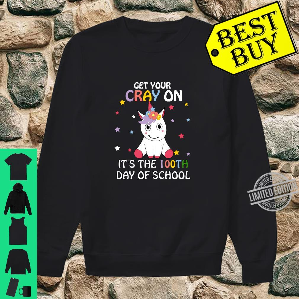 Happy 100th Day of School Child Shirt sweater
