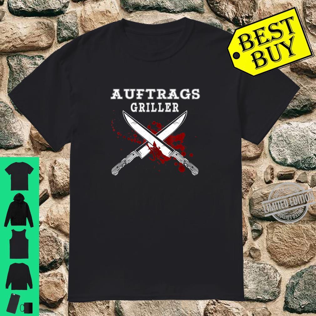 Herren Auftragsgriller Lustiges Grill Outfit Grillsprüche lustig Shirt