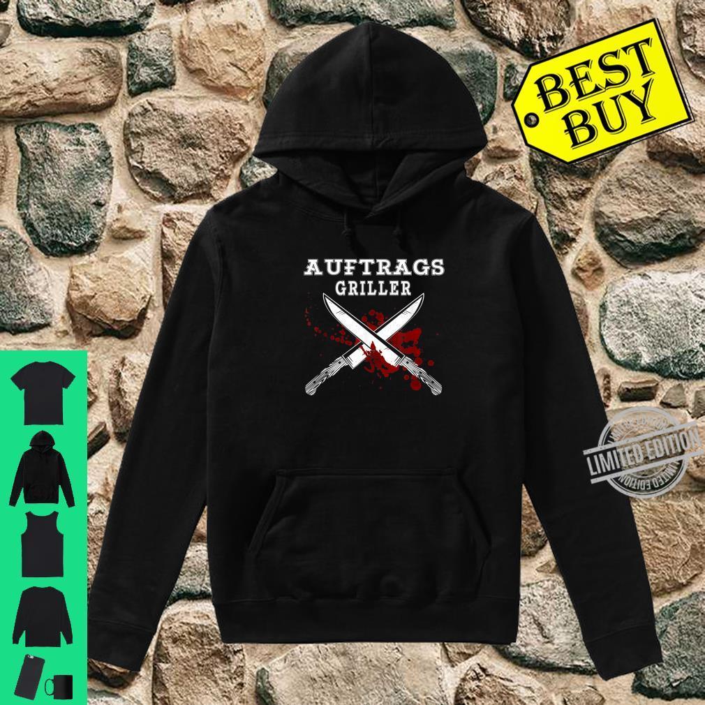 Herren Auftragsgriller Lustiges Grill Outfit Grillsprüche lustig Shirt hoodie