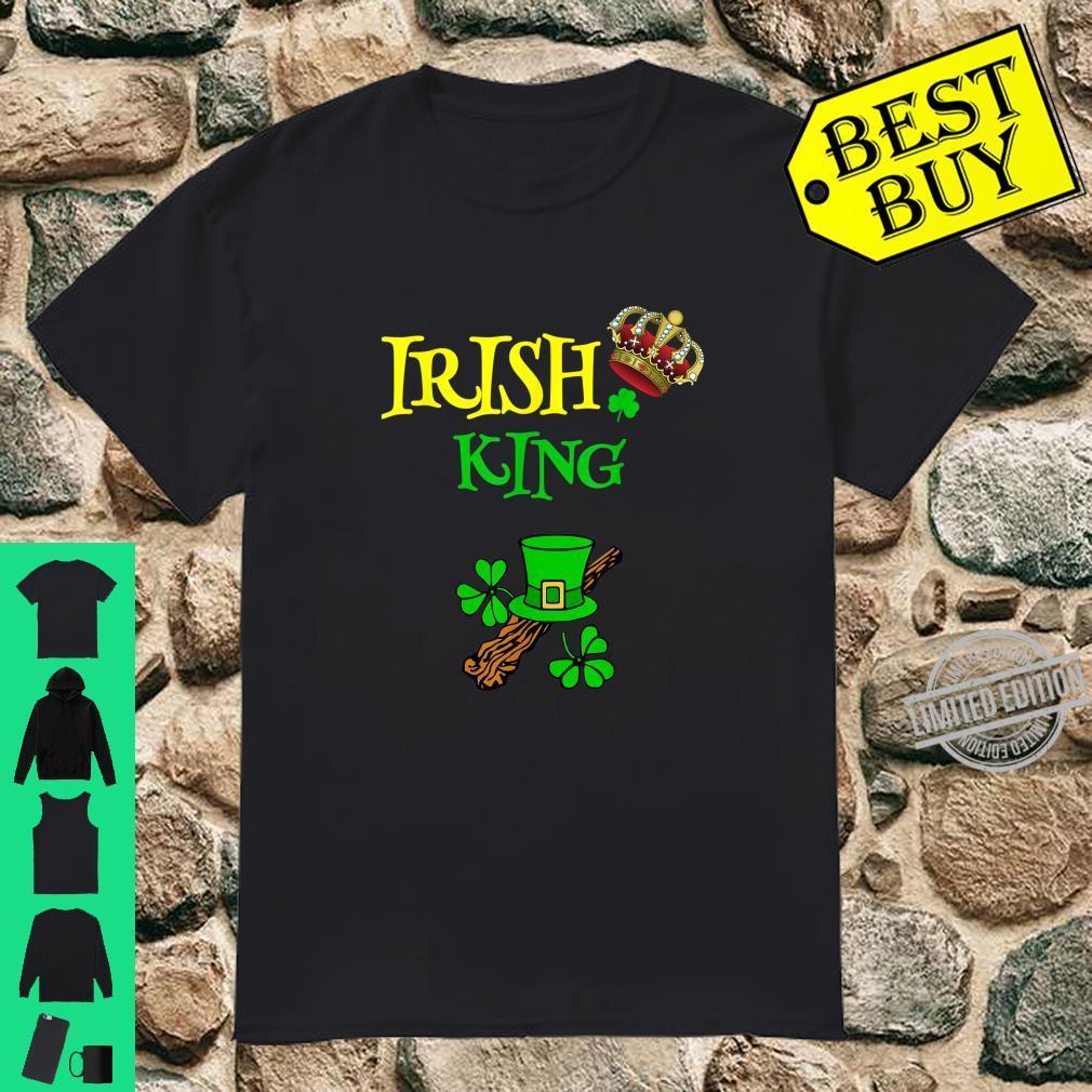 Irish King Saint Patrick's Day Shamrock St Patty Shirt