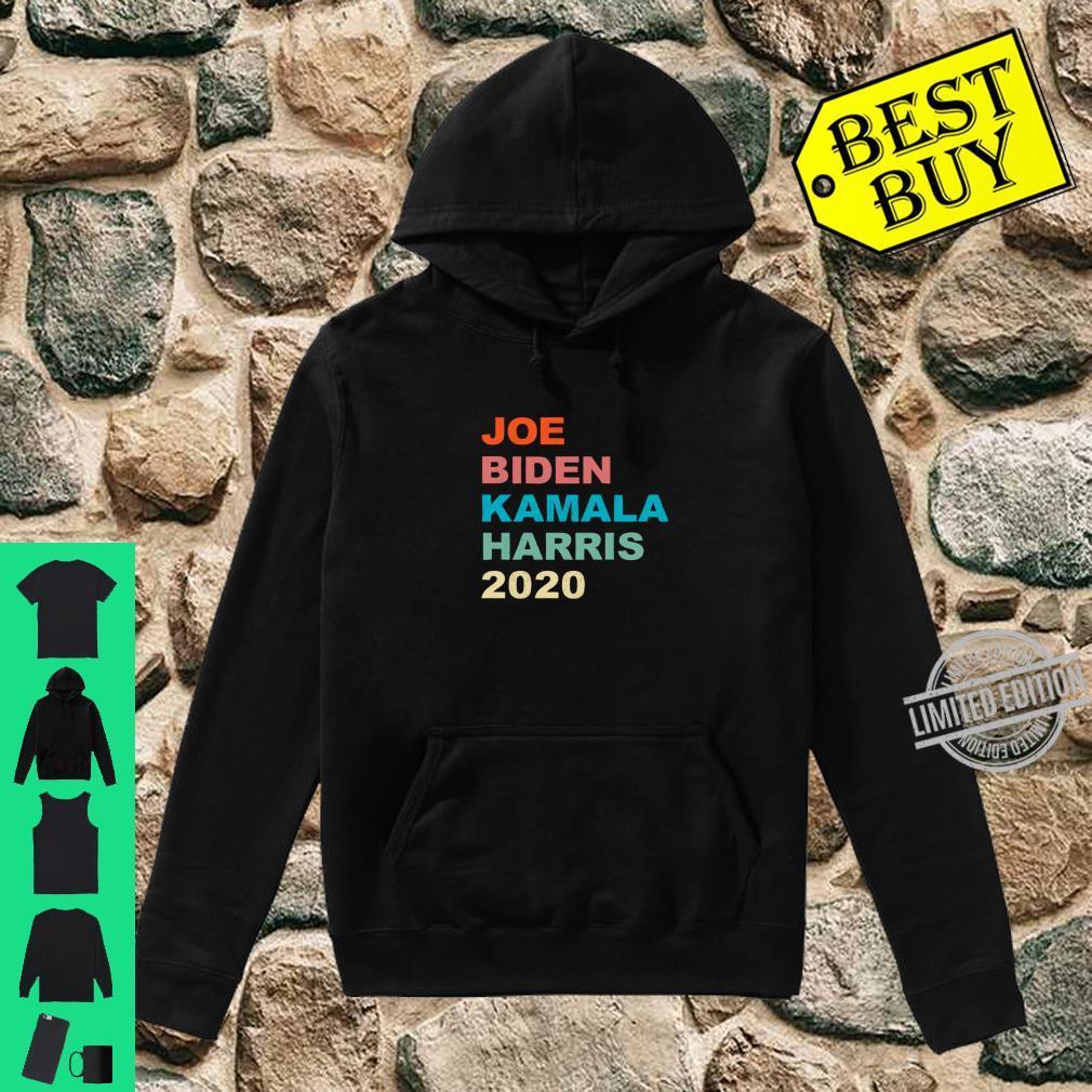Joe Biden Kamala Harris 2020 Vintage Retro Shirt hoodie