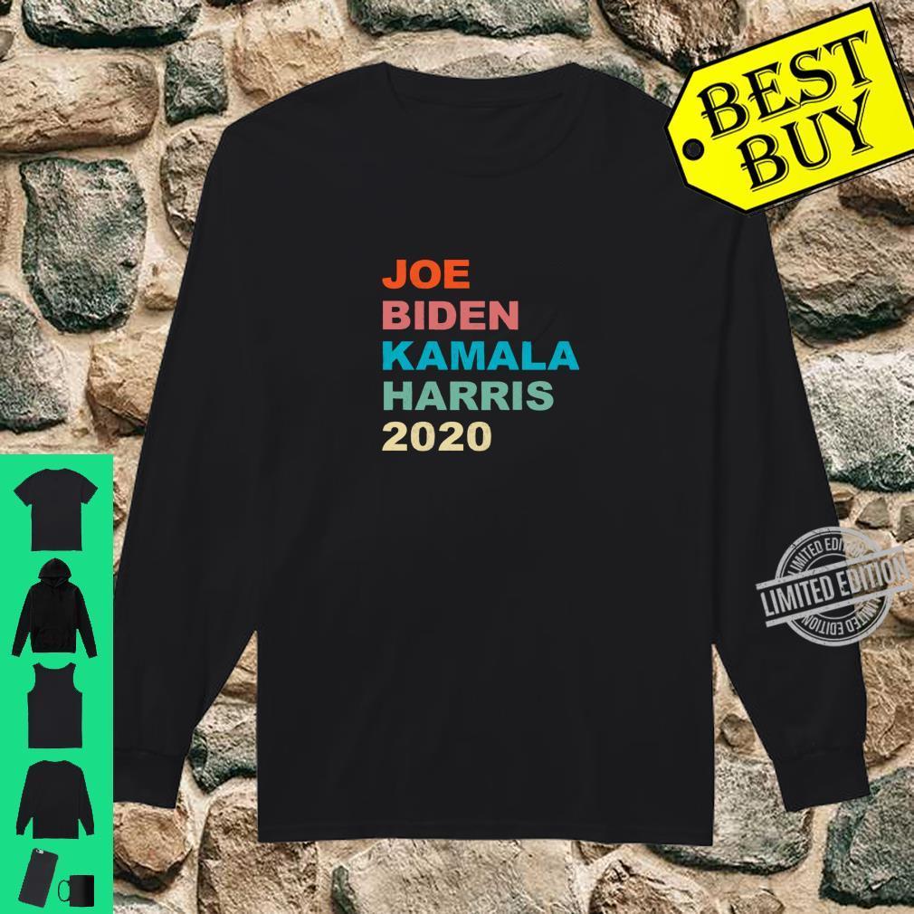 Joe Biden Kamala Harris 2020 Vintage Retro Shirt long sleeved