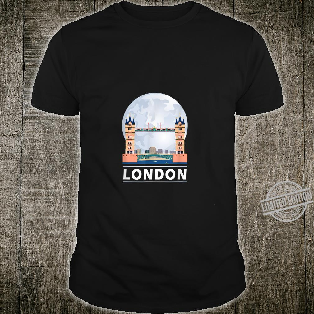 London Tower Bridge England UK Vintage Shirt