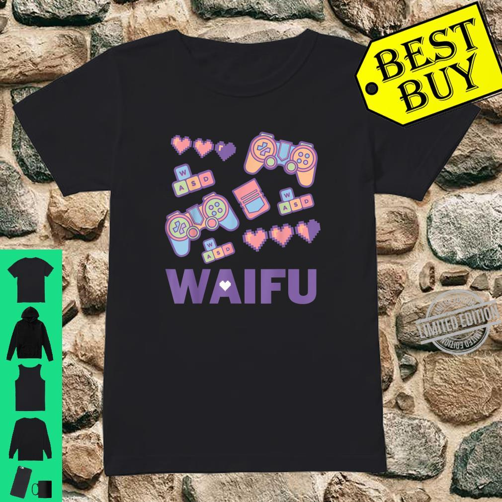 Manga Waifu Video Games Cute Handheld Game Controller Shirt ladies tee