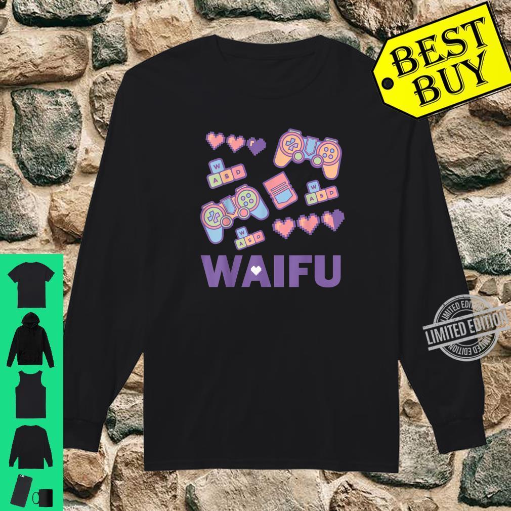 Manga Waifu Video Games Cute Handheld Game Controller Shirt long sleeved