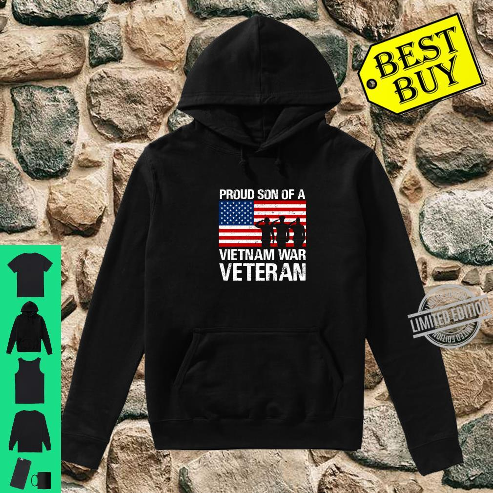 Military Family Proud Son of a Vietnam Veteran Shirt hoodie
