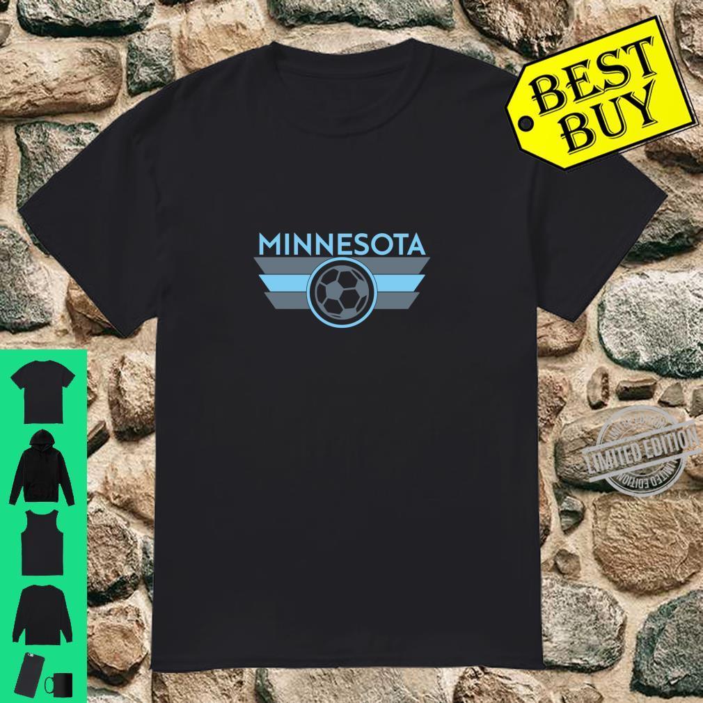 Minnesota Soccer Jersey Style Football Fan Shirt