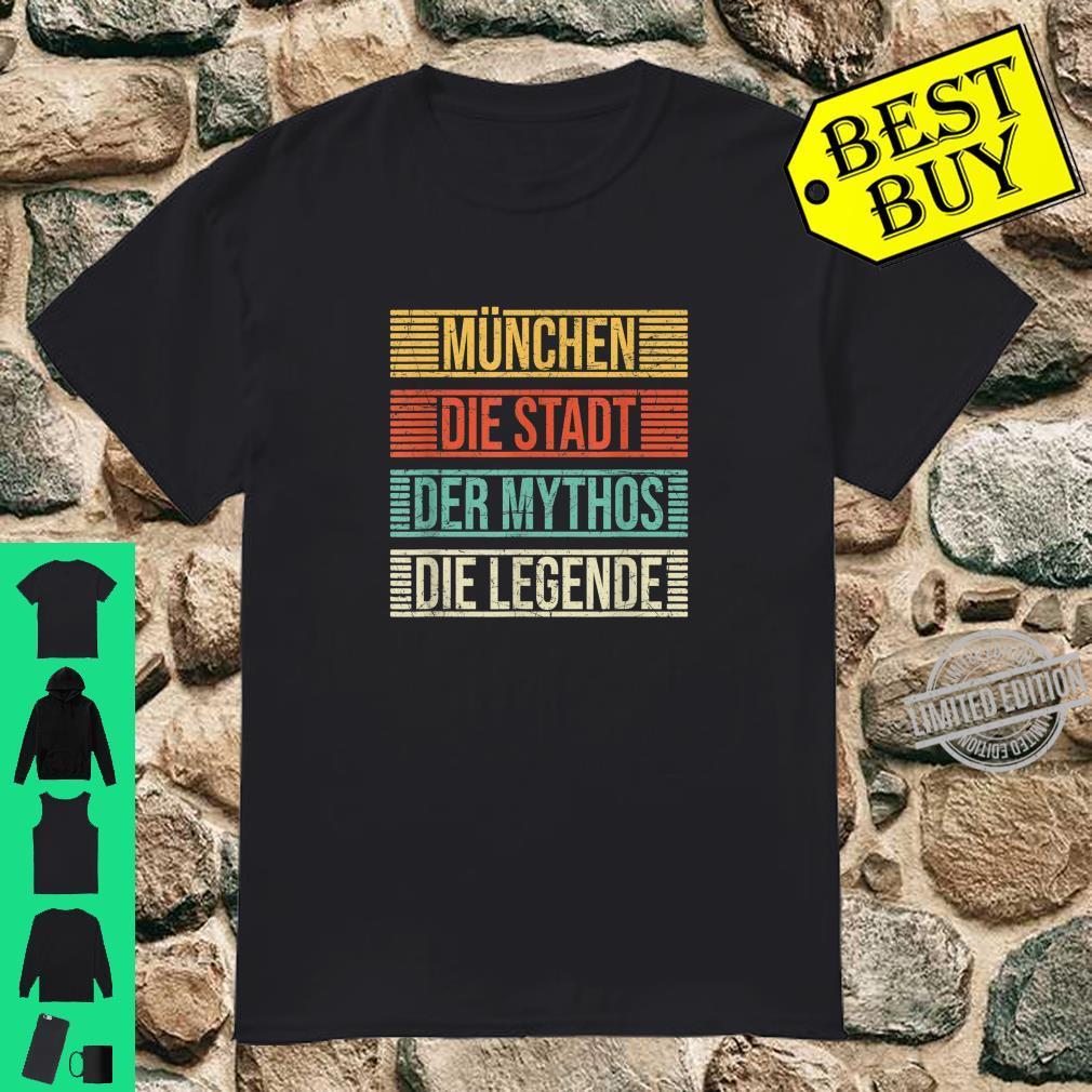 München Die Stadt Der Mythos Die Legende Münchener Vintage Shirt