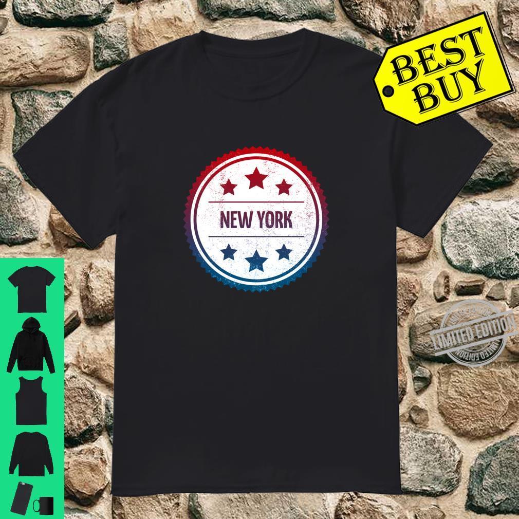 New York Cool Retro City Badge Shirt