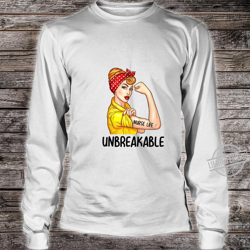 Nurse Life Unbreakable Shirt Nursing Shirt long sleeved