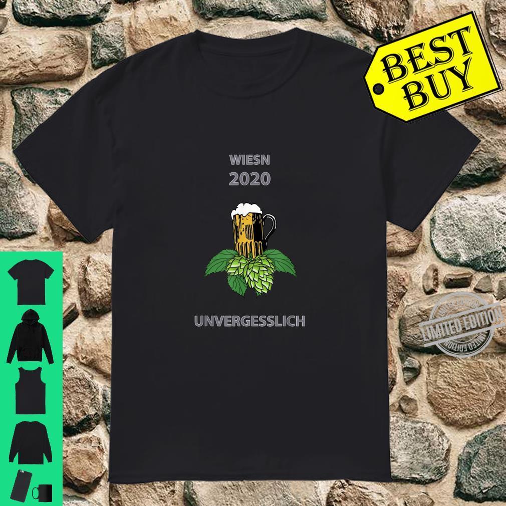 Oktoberfest Wiesn 2020 Ironie Witz Scherz Spruch lustig Shirt