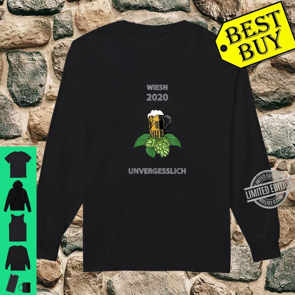 Oktoberfest Wiesn 2020 Ironie Witz Scherz Spruch lustig Shirt long sleeved