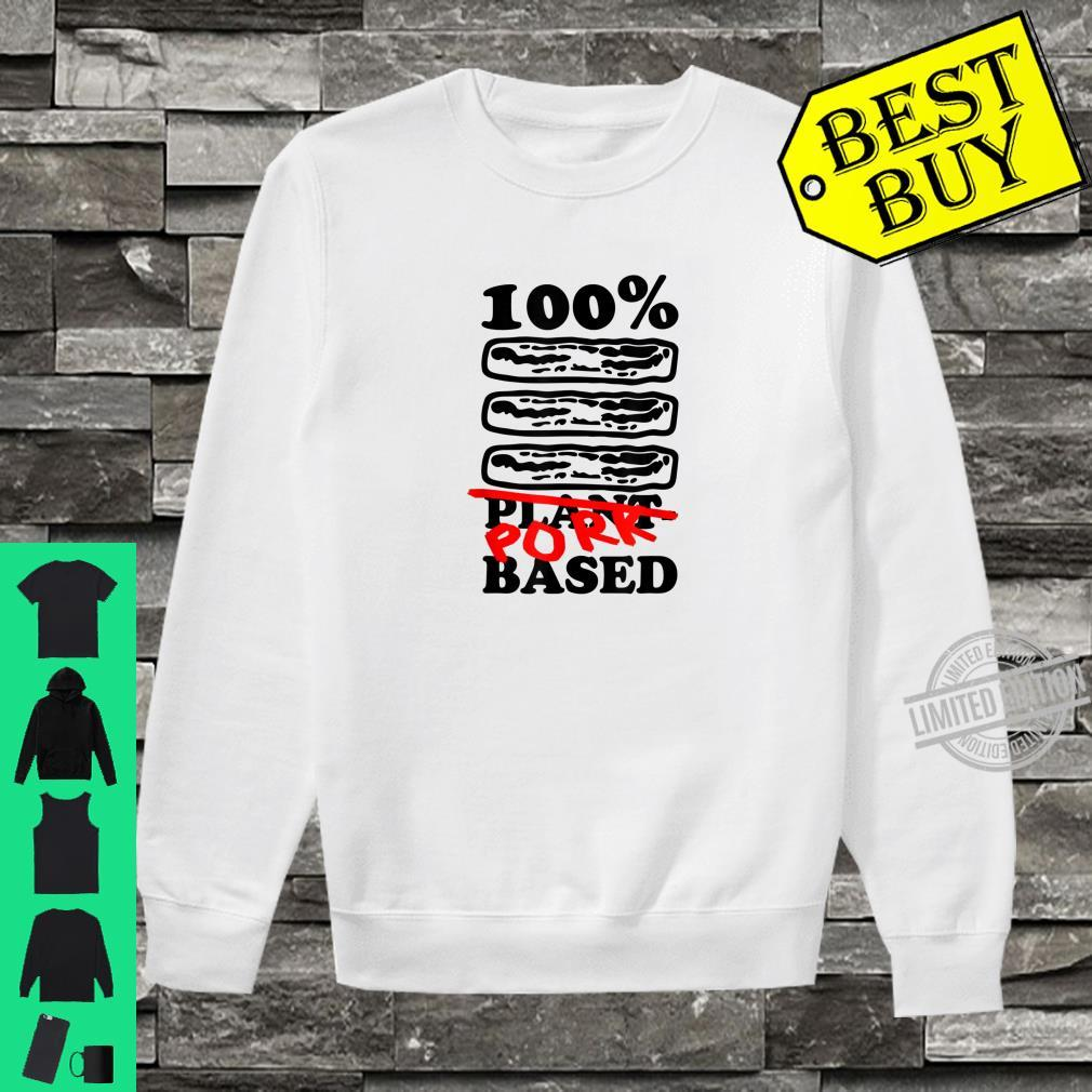One Hundred Percent Pork Based Bacon Shirt sweater