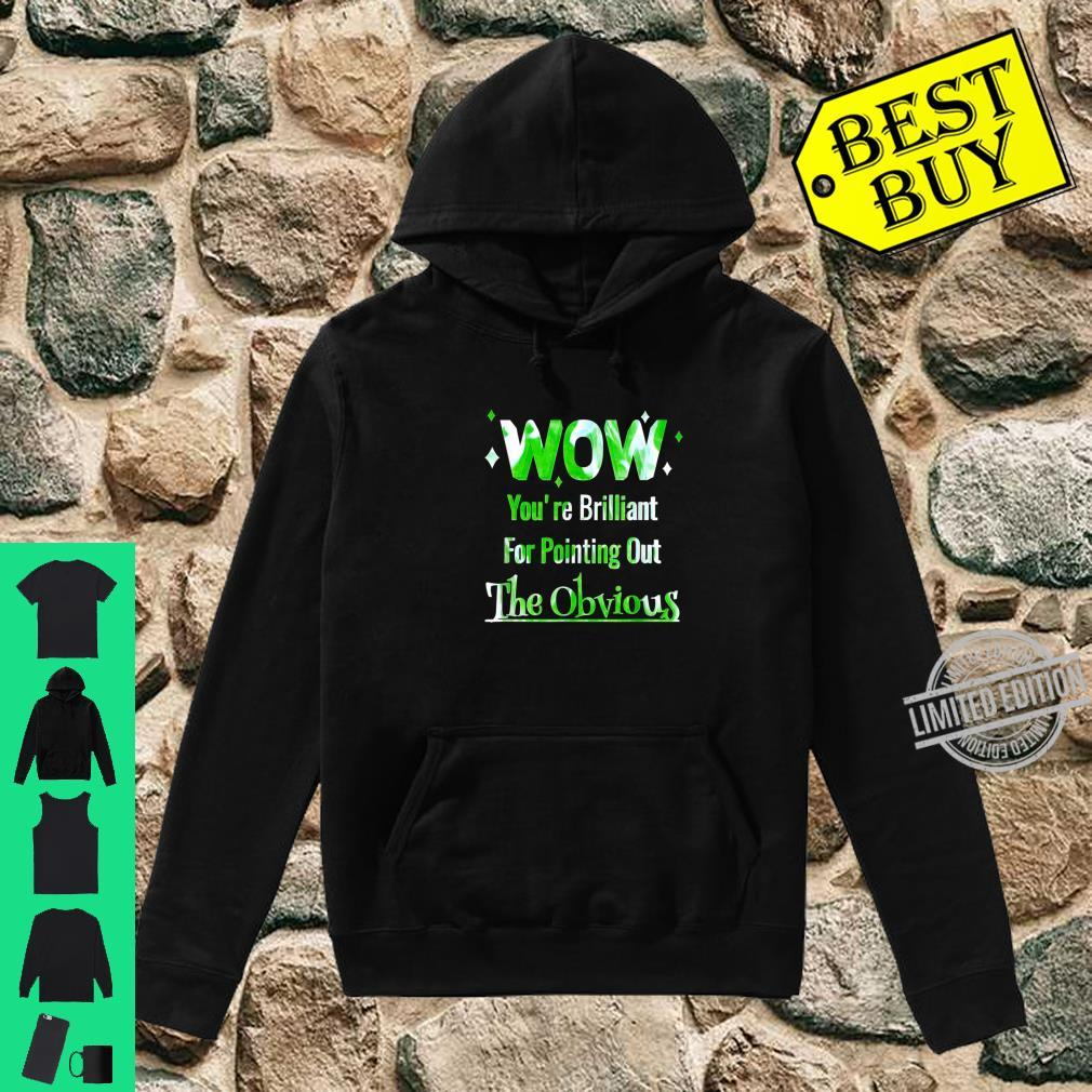 Pointing Out The Obvious Short People Overweight People Shirt hoodie