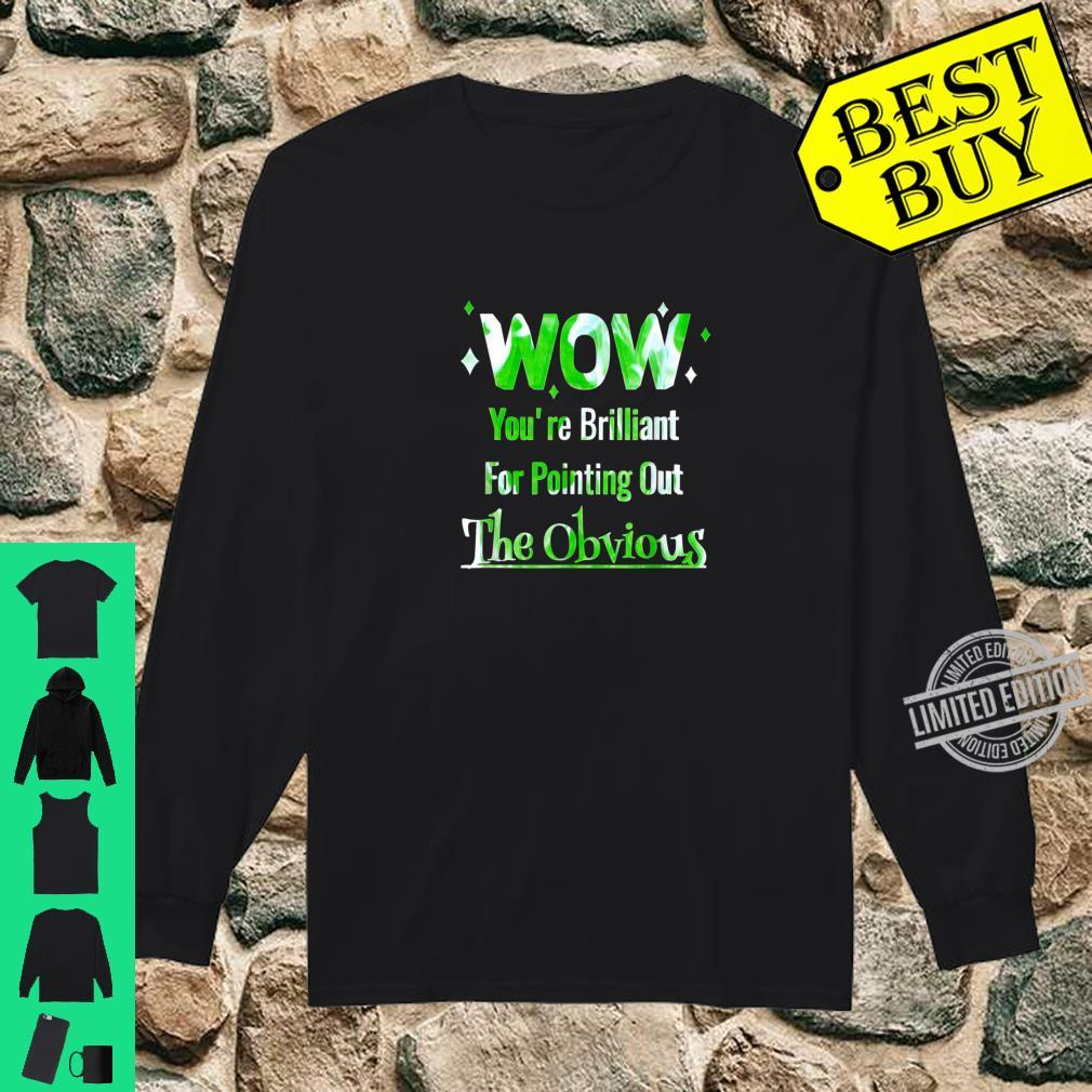 Pointing Out The Obvious Short People Overweight People Shirt long sleeved