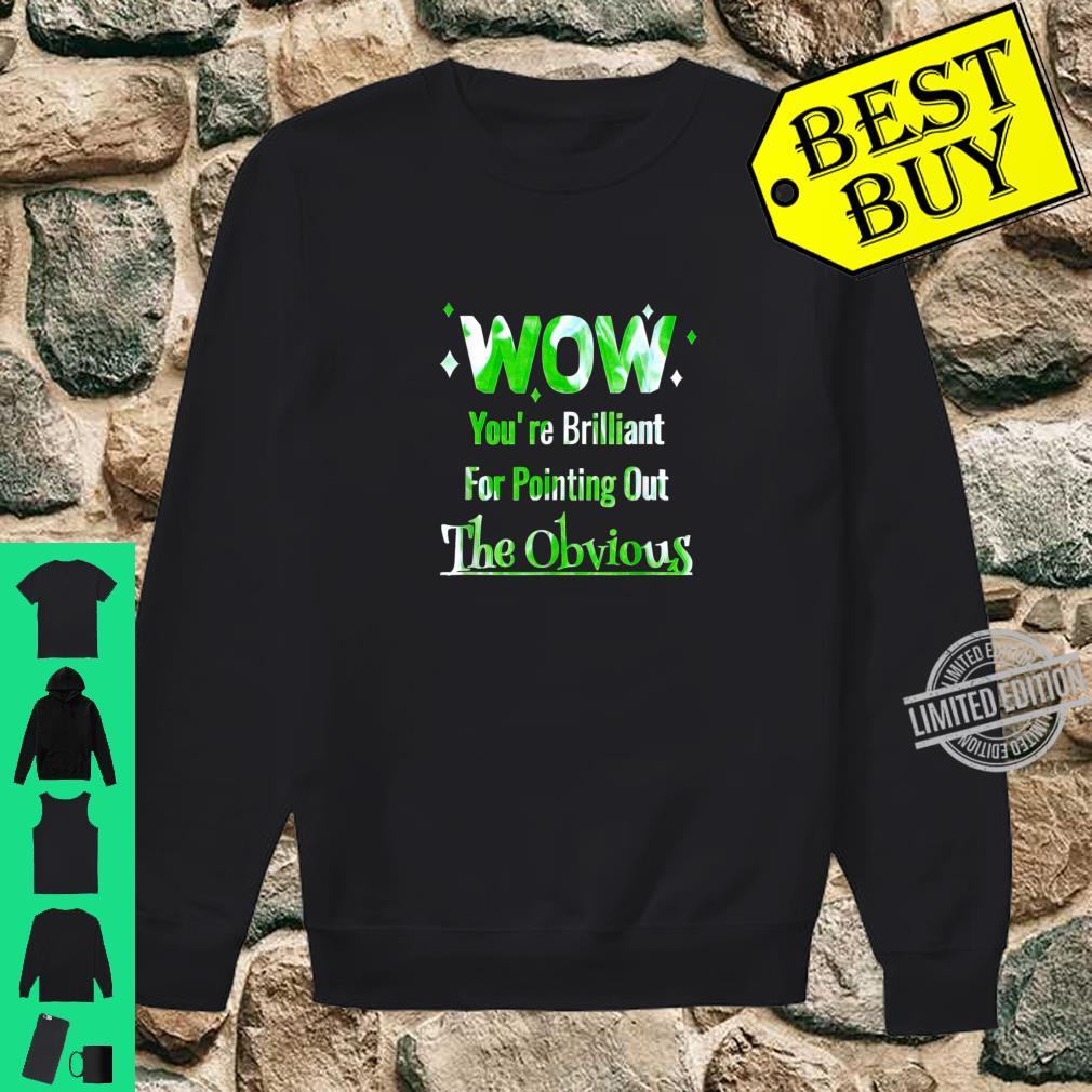 Pointing Out The Obvious Short People Overweight People Shirt sweater