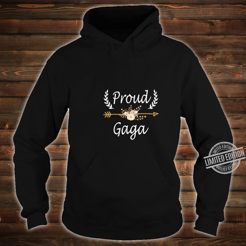 Proud Gaga Shirt Cute Thanksgiving Christmas Shirt hoodie