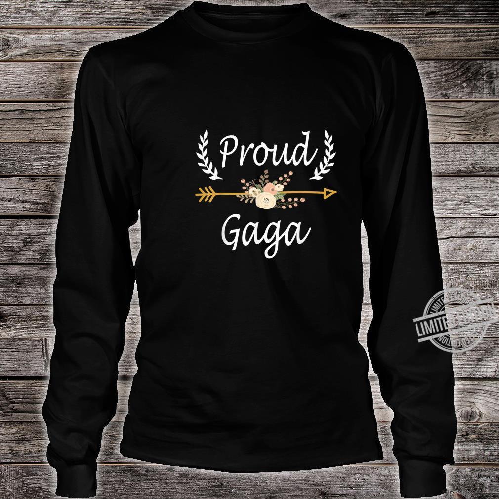 Proud Gaga Shirt Cute Thanksgiving Christmas Shirt long sleeved