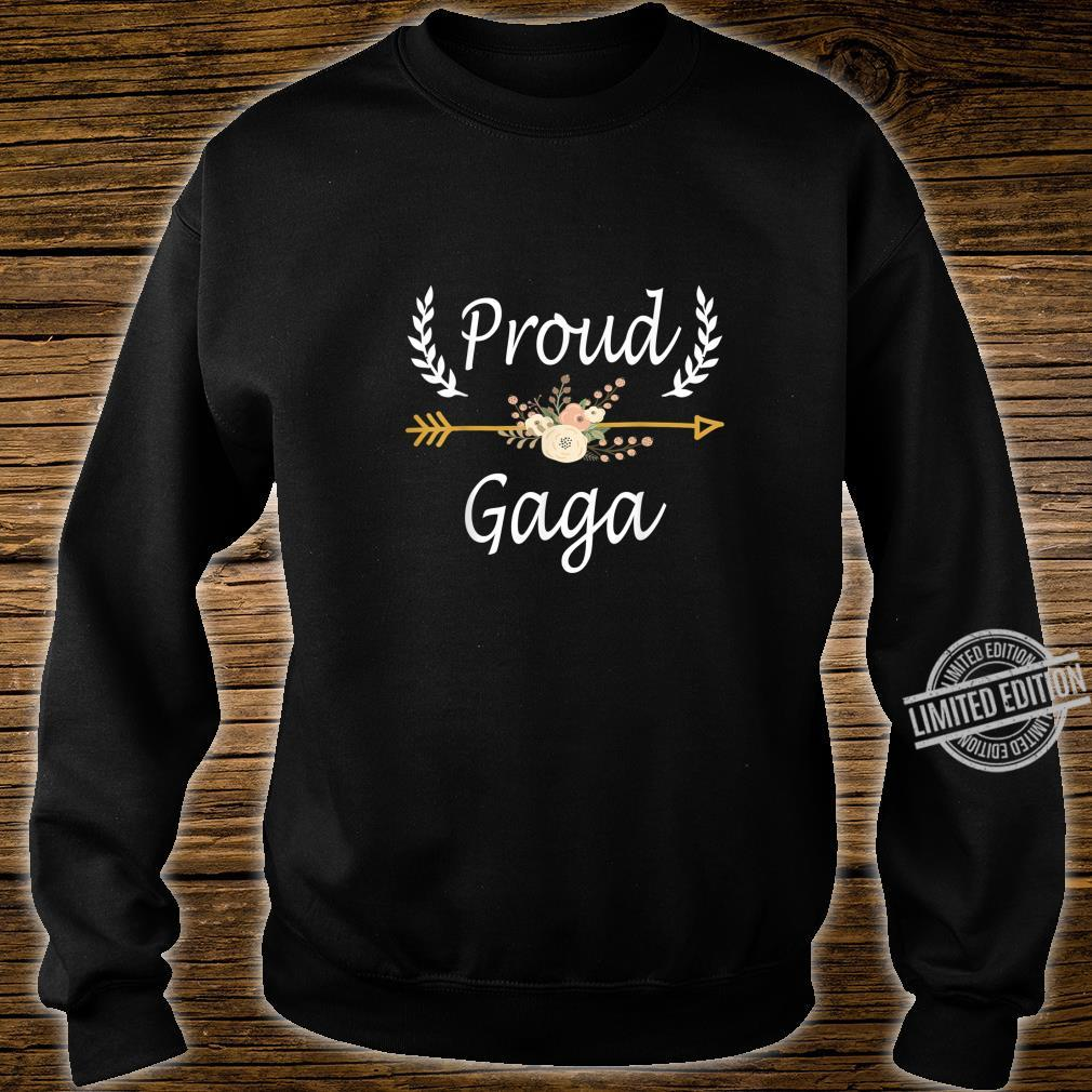 Proud Gaga Shirt Cute Thanksgiving Christmas Shirt sweater