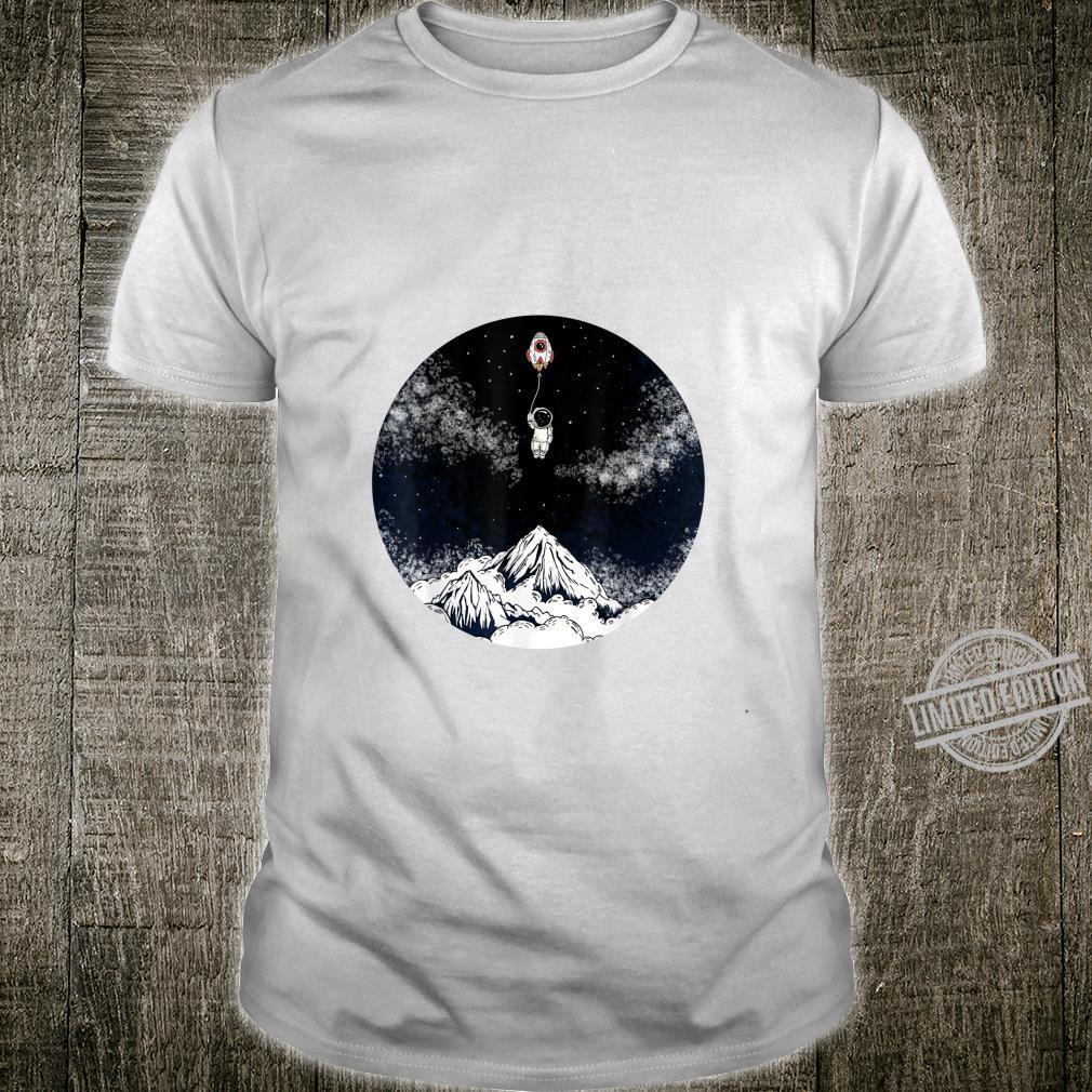 Raumschiffballon Kind Shirt