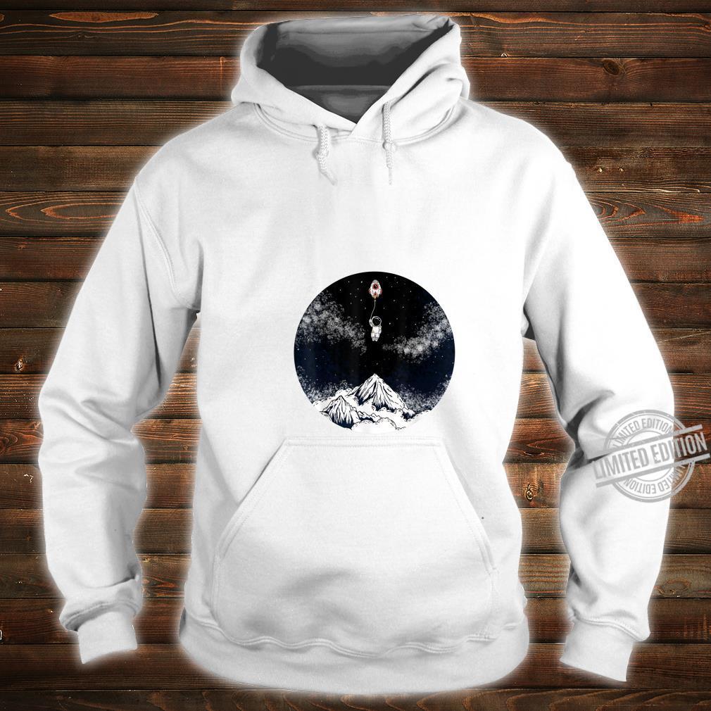 Raumschiffballon Kind Shirt hoodie