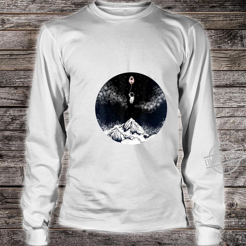 Raumschiffballon Kind Shirt long sleeved