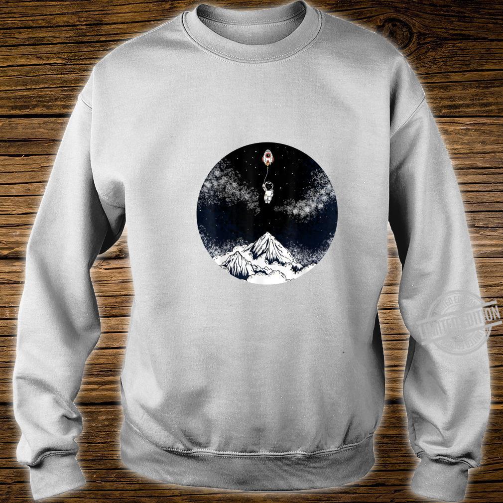 Raumschiffballon Kind Shirt sweater