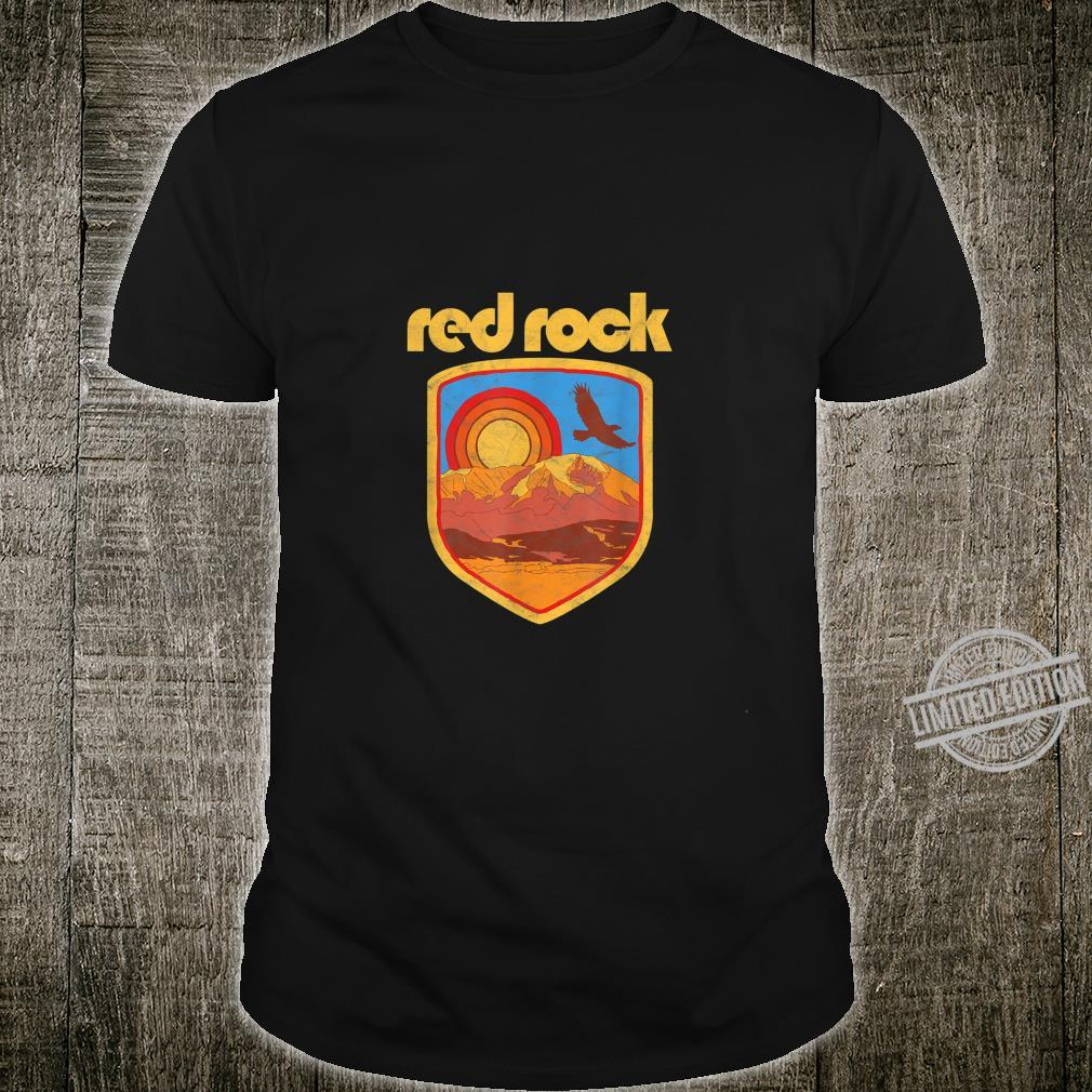 Red Rock Canyon Retro Vintage Style Shirt
