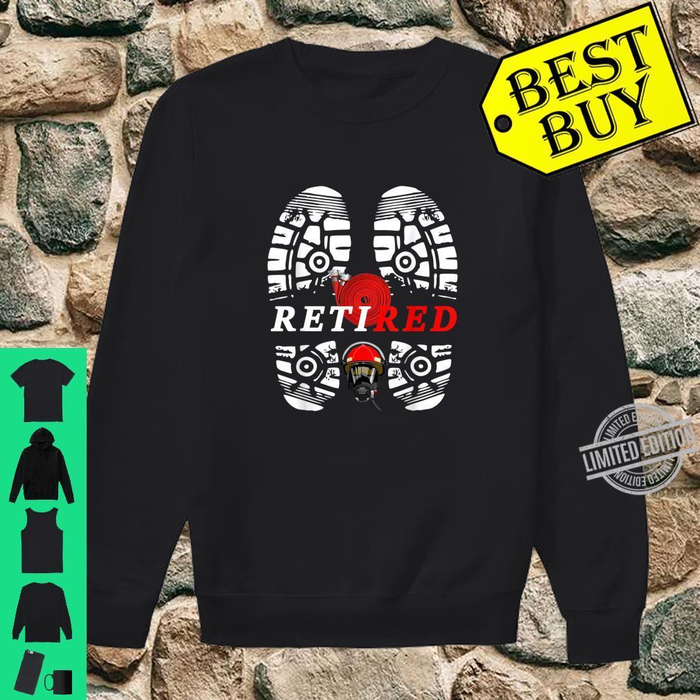 Retired, Firefighter Retired Shirt sweater