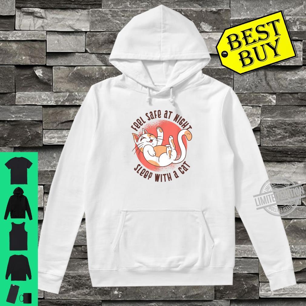 Sleep Cat Kitty Kitten Fun Shirt hoodie
